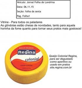 Jornal Folha de Londrina 06.11.15 nov 15