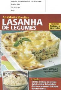 Revista Ana Maria Ed.993 Capa Livro de Receitas out 15