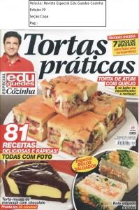 Revista Especial Edu Guedes na Cozinha Ed.39 Capa set 15