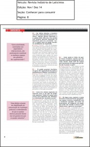 Revista Industria de Laticinios Ed.Nov. Dez 14 Pag.8