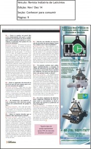 Revista Industria de Laticinios Ed.Nov. Dez 14 Pag.9