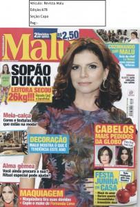 Revista Malu Ed.678 Capa junho15