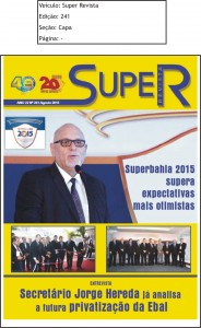 Revista Super Revista Ed.241 Capa set 15