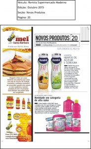 Revista Supermercado Moderno Ed.Outubro 2015 Pag.20 out 15