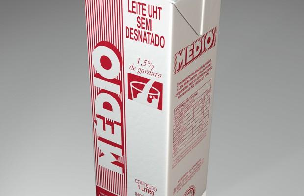 Leite Médio