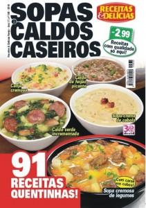Revista Receitas & Delicias Varejo Ed.168 Capa